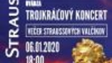 Trojkráľový koncert - Večer Straussových valčíkov