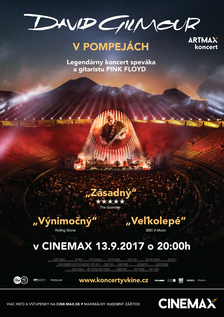 David Gilmour v Pompejách - Artmax koncert